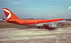 C-FCRD - 1974 build Boeing B747-217B, frame broken up at Karachi in 2006 (egcc) Tags: man manchester empress canadianpacific boeing cp jumbo b747 ringway 743 244 egcc cpair b747200 20927 apbco b747217b cfcrd n620bn