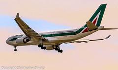 Alitalia Airbus A330 (Doctor Christopher) Tags: alitalia airbusa330