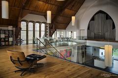 Residential Church (Heerlen, October 2015) (Camiel de Hoen) Tags: house building church architecture de conversion expressionism 20s hoen heerlen camiel