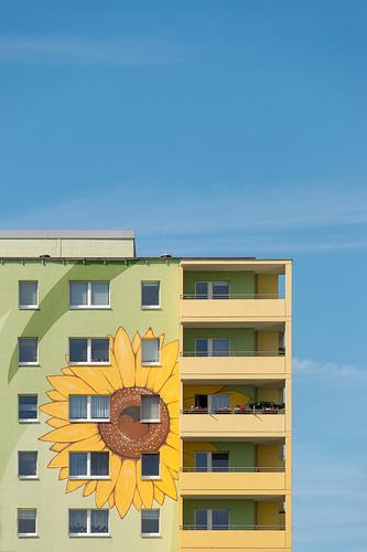 Flower-Tower Zossener Straße Foto: Ole Bader