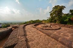India - Odisha - Bhubaneswar - Udayagiri Hill - Excavated Apsidal Jaina Shrine (circa 2nd Century B.C.) - 3 (asienman) Tags: india caves bhubaneswar udayagiri asienmanphotography khadagiri