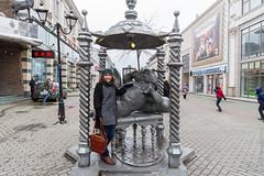 IMG_6731 (Denis Anikin) Tags: russia ru kazan город памятник кот казань баумана respublikatatarstan ираалексеева