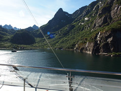In the Trollfjord, Norway (1) (Phil Masters) Tags: 21stjuly july2016 norwayholiday norway raftsund raftsundet thetrollfjord trollfjorden trollfjord shipsandboats hurtigruten msspitsbergen