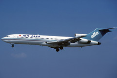Air Alfa B727-230 TC-ALM BCN 08/04/1996 (jordi757) Tags: barcelona nikon airplanes bcn kodachrome boeing f90x kodachrome64 avions 727 elprat b727 b727200 tcalm lebl airalfa