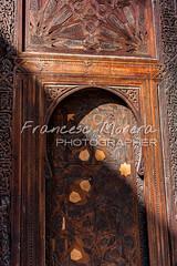 Carved wood door at Bou Inania (FM Photographer) Tags: africa fez medina marroc bouinaniamedersa feselbali madrasamedersa