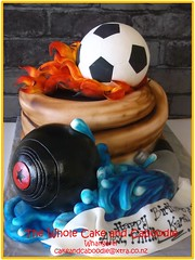 fire fire (The Whole Cake and Caboodle ( lisa )) Tags: birthday cakes cake fire football flames hose fireman bowls whangarei birthdaycakes caboodle indoorbowls thewholecakeandcaboodle birthdaycakeswhangarei