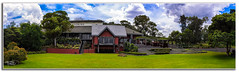 Hollydene Estate Wines (Thanks For Your Kind Support) Tags: panorama architecture canon landscape wine australia vineyards nsw 1855mm hdr huntervalley wineries hollydene hunterregion kevinwalker canon1100d