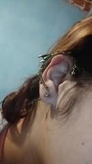 326: Dragon ear cuff (Jubaoli) Tags: earring earcuff 365fotos 365dias