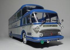 Isobloc 656DH Transcar (6) (dougie.d) Tags: france bus scale coach model panoramic 1956 autobus panoramique 143 diecast autocar ixo ludewig hachette modelbus autocoach altaya busmodel transcar isobloc floirat isobloc656dh 15decker