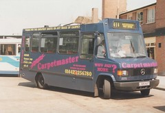 Photo of ML 18, L326 AUT, Mercedes-Benz 709D, Leicester Carriage Builders B25F, 1994 (t.1995)