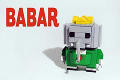 Babar le roi des lphants (totopremier) Tags: elephant lego babar blockhead