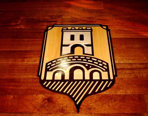 Diseño especial en madera restaurante Carballeira