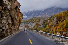 The Silk Road (Shehzaad Maroof Khan) Tags: road travel autumn pakistan mountain love countryside nikon highway peace riverside silkroad karakoram kkh hunza ontheroad thesilkroad gilgitbaltistan
