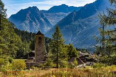 Macugnaga, Cimitero (Andrea Serafini) Tags: mountain montagna macugnaga lago fate chiesa alba dawn lake fresh water alpi alps