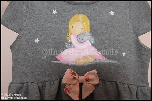 "Vestidos de menina (4-5anos e 2-3anos) ""Dreaming Girls"""