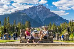 Classic Banff Drive Shane and Tara (Shane Kiely) Tags: banff canada lakeminnewanka tunnelmountain vermillionlakes