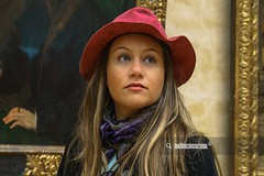 Untitled (akincansenol) Tags: 500px dilad enol louvre sony a6000 akincansenol autumn beauty blonde casual clothing celebrity closeup cute day dilocom face fashion girl head shoulders history holiday indoor long hair looking up low angle model moment natural light paint painting photomodel picture pink hat portrait shawl smile stock photo table tourism woman young uncategorized