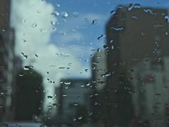 rain_1250014 (strange_hair) Tags: rain blue sky building cloud street urban tokyo japan