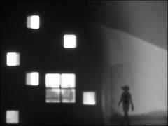 F_DSC5198-BW-Nikon D300S-Nikkor 28-300mm-May Lee 廖藹淳 (May-margy) Tags: maymargy 夢迴 bw 黑白 人像 剪影 建築 門 窗戶 街拍 streetviewphotographytaiwan 天馬行空鏡頭的異想世界 mylensandmyimagination 線條造型與光影 linesformandlightandshadows 心象意象與影像 naturalcoincidencethrumylens 台南市 台灣 中華民國 taiwan repofchina 模糊 blur 散景 bokeh 玻璃 glass 反射 reflection humaningeometry fdsc5198bw portrait building door windows silhouette tainancity nikond300s nikkor28300mm maylee廖藹淳