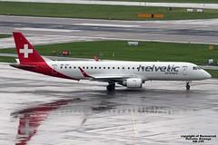 HB-JVP LSZH 31-07-2016 (Burmarrad (Mark) Camenzuli) Tags: airline helvetic airways aircraft embraer 190100lr registration hbjvp cn 19000387 lszh 31072016