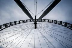 london eye (Larson.patrik) Tags: london eye symmetric contrast dark blue lines cloud