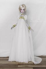 Fragile Empress (AyuAna) Tags: bjd ball jointed doll dollfie ayuana design handmade ooak clothing clothes dress set fantasy style