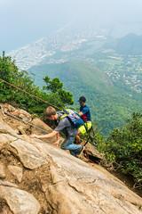 DSC_6011 (sergeysemendyaev) Tags: 2016 rio riodejaneiro brazil pedradagavea    hiking adventure best    travel nature   landscape scenery rock mountain    high ascend  carrasqueira risk  climbing