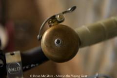 10 years on, it still has a long way to go (Brian McGloin) Tags: mercier austin bicycle brassbell crane fixedgear singlespeed trackbike wald wirebasket
