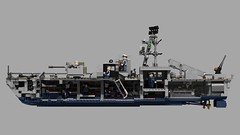 Sa'ar (Lego Pilot) Tags: lego ldd povray boat patrolboat saar samaria navy missile