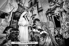 Faraway, So Close! (Così lontano così vicino) - it's a  movie by German director Wim Wenders, 1993. (Qi Bo) Tags: qibo sicilia sicily fiumedinisi blackandwhite madonnaannunziata festadellavara virginmaryannunciated report reportage sicilianpopularreligiousfeast festereligiosesiciliane festepopolarisiciliane angeli angels sony minolta zeisslens minoltalens sonyalpha sonyalpha99 sonyalpha900 sonyalpha850 sonyalpha58 arcangelogabriele padreeterno archangelgabriel eternalfather annunciationoflord feastoffloat varavivente livingfloat giglio lily