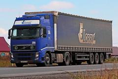 Volvo FH.400   003  96 (RUS) (zauralec) Tags: kurgancity therouter254irtysh transport company lorry  volvo fh400  003  96 rus