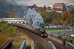 steam and the city (midcheshireman) Tags: steam train locomotive castle 5043 50xx earlofmountedgecumbe city cheshire chester