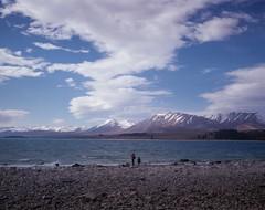 Lake Pukaki (denise yeap) Tags: 120 nz mediumformat pro400h mamiya7 colours roadtrip photowalk analog analogue film filmnotdead filmneverdie arts landscape canterbury