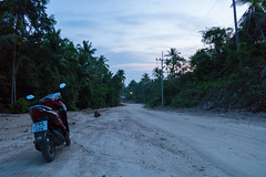Sugar rush (goAlafuente) Tags: motorcycle driving jungle road danger sunset kohphangan thailand asia sony a6300 sigma 19mm sigma19mm lowlight