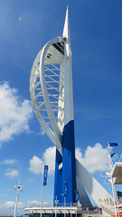Portsmouth, Hampshire - England (Mic V.) Tags: portsmouth pompey hampshire hants england great britain gb uk united kingdom port building architecture spinnaker tower observation emirates millenium gunwharf quays hgp greentree allchurch evans