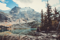 I'm going to see the world (bingo blue) Tags: lake mountains glacier hike hiking joffre matier canada britishcolumbia explore