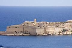 Fort Rikazoli (leaving-the-moon) Tags: 201609 architektur festung fort fortrikazoni grandharbour hafen harbour malta maltagozo malte mittelalter urbanthings valletta vallettahafen wasser