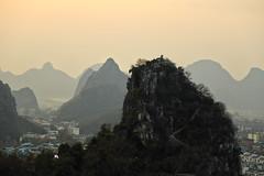 View from Diecai Hill, 叠彩山 (RH&XL) Tags: guilin 桂林 广西 guangxi china lijiang diecai hill 叠彩山