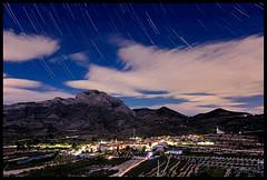 Beniarres, Stars (jordi_nll) Tags: longexposure distinguished long exposure nubes nit noche nocturna cielo cel estrellas beniarrs lightpainting sky night stars startrails fantstic