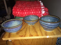 Pottery! Yay! (Beerdedbiker) Tags: pottery potterywheel stoneware clay hobby bowl claybowl