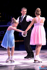 Paul Wylie (with wife Kate and daughter Emma)