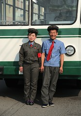 Bus stuff (Chongjin) (Frühtau) Tags: dprk north korea nordkorea korean people leute country chongjin city traffic bus street scene strasse verkehr woman man worker arbeiter mann frau personal system vehicle asia asian east centre stadt daily life scenery 朝鲜 朝鮮 cháoxiān 地 outdoor корея северная كوريا الشمالية 北朝鮮 corea del norte corée du nord coreia do coréia เกาหลีเหนือ βόρεια κορέα culture szene personen