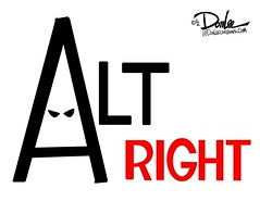 1216 alt right hood cartoon (DSL art and photos) Tags: editorialcartoon donlee altright allwhite racism bigotry discrimination hate