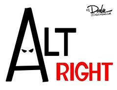 1216 alt right hood cartoon (DSL art and photos) Tags: editorialcartoon donlee altright allwhite racism bigotry discrimination hate