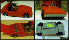 Vintage Bionic Woman car. (indianapolisrebel) Tags: six million dallar man sixmilliondollarman bionicwoman indianapolisrebel rebelfigures gijoefriends