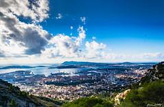 Toulon (J Lamy Photographie) Tags: toulon port paysage mer ciel nature extrieur colline rivage cte var paca faron