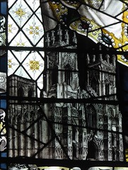 Detail from Kempe Window, York Minster (Aidan McRae Thomson) Tags: york minster cathedral yorkshire stainedglass window victorian kempe
