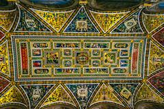 Siena, the Piccolomini Library (Arutemu) Tags: europe european italy italia italien italian tuscany tuscan toscana gothic medieval medievalart piccolominilibrary sigma 15mm sigma15 renaissance art