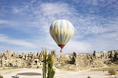 Cappodacia (Christopher-James Brame) Tags: hot air balloon cappodacia travel turkey goreme scenery nature sky clouds