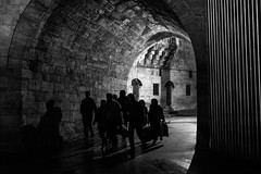 Travel in groups (zgr Grgey) Tags: 2016 50mm bw d750 darkcity eminn nikon architecture evening lowlight shadows silhouettes street istanbul flickrfriday